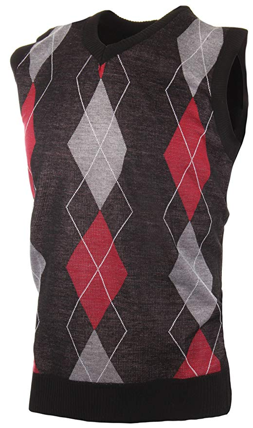 black-gray-and-red-argyle-sweater-vest