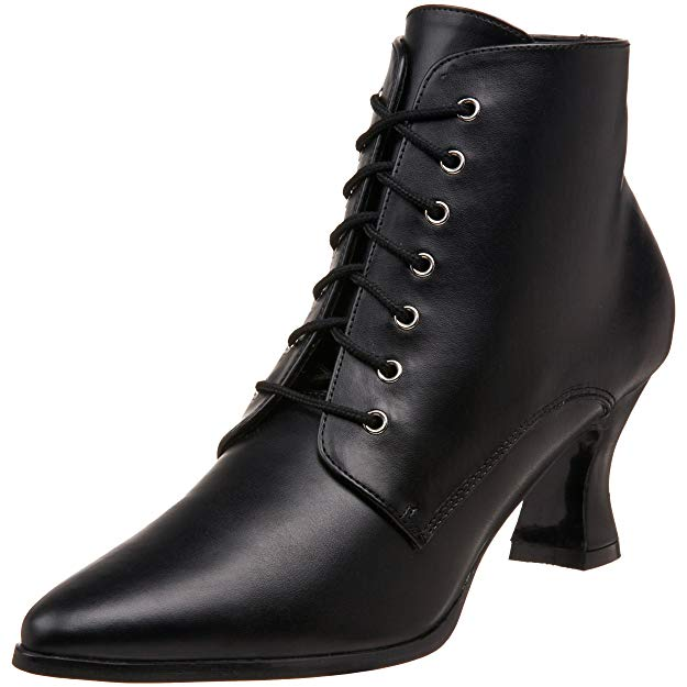 black-lace-up-victorian-ankle-boots
