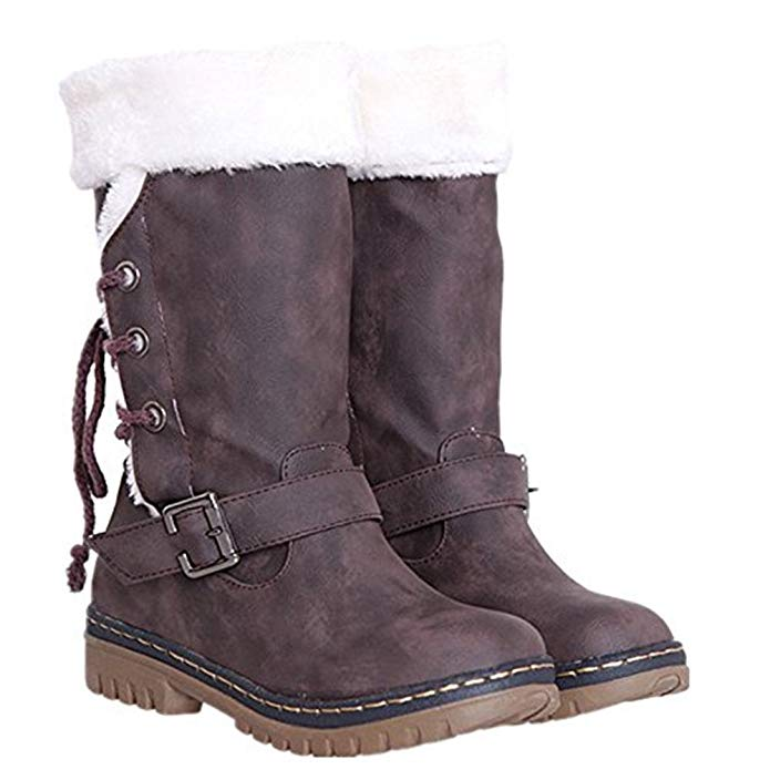 brown-boots-with-white-fur-trim