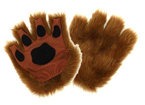 brown-fur-paw-gloves