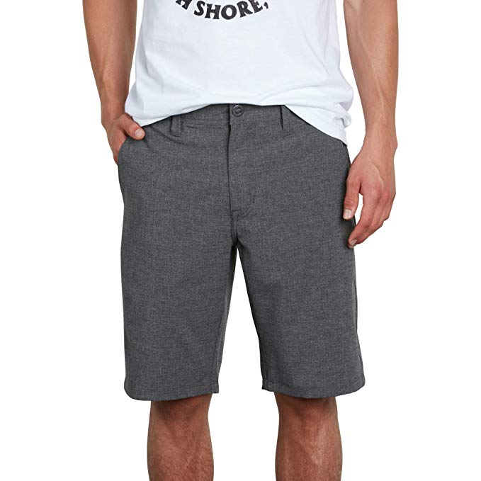 charcoal-heather-gray-shorts