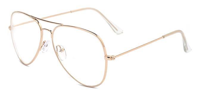 large-gold-metal-frame-glasses