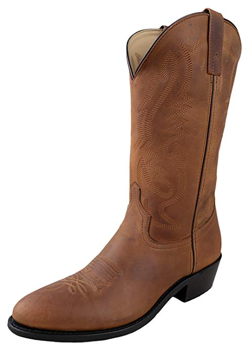 oil-distress-brown-western-cowboy-boots
