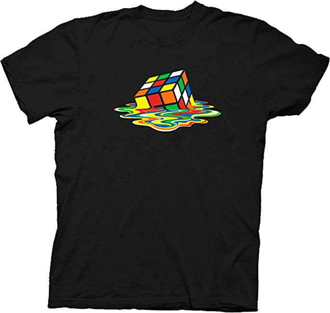 rubiks-cube-melting-t-shirt