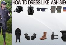 How to Dress Like Ash Siege