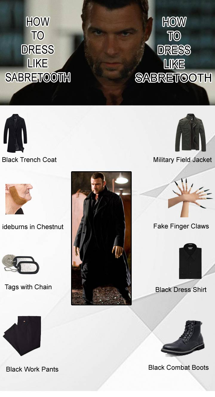 how-to-dress-like-sabretooth