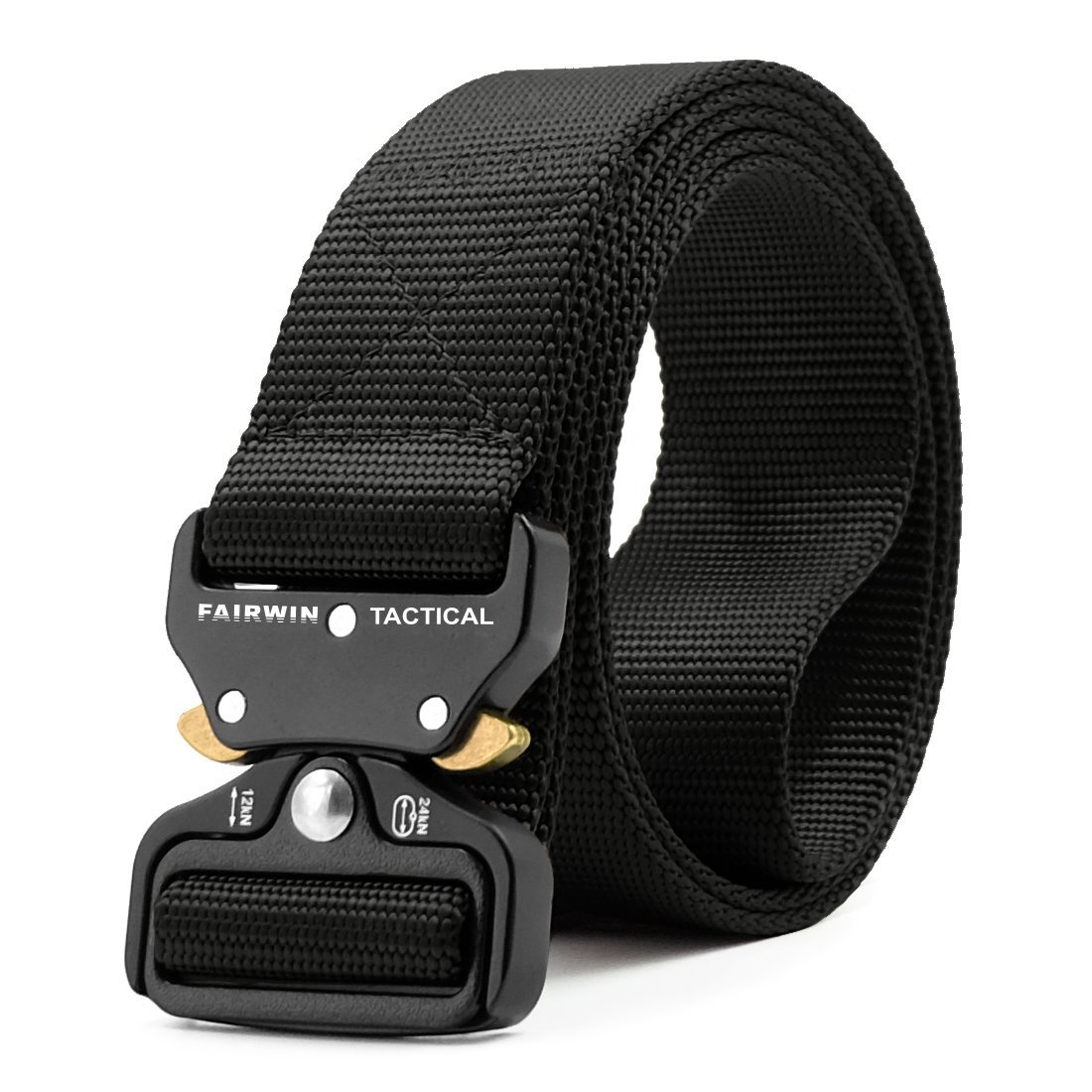 black-tactical-belt