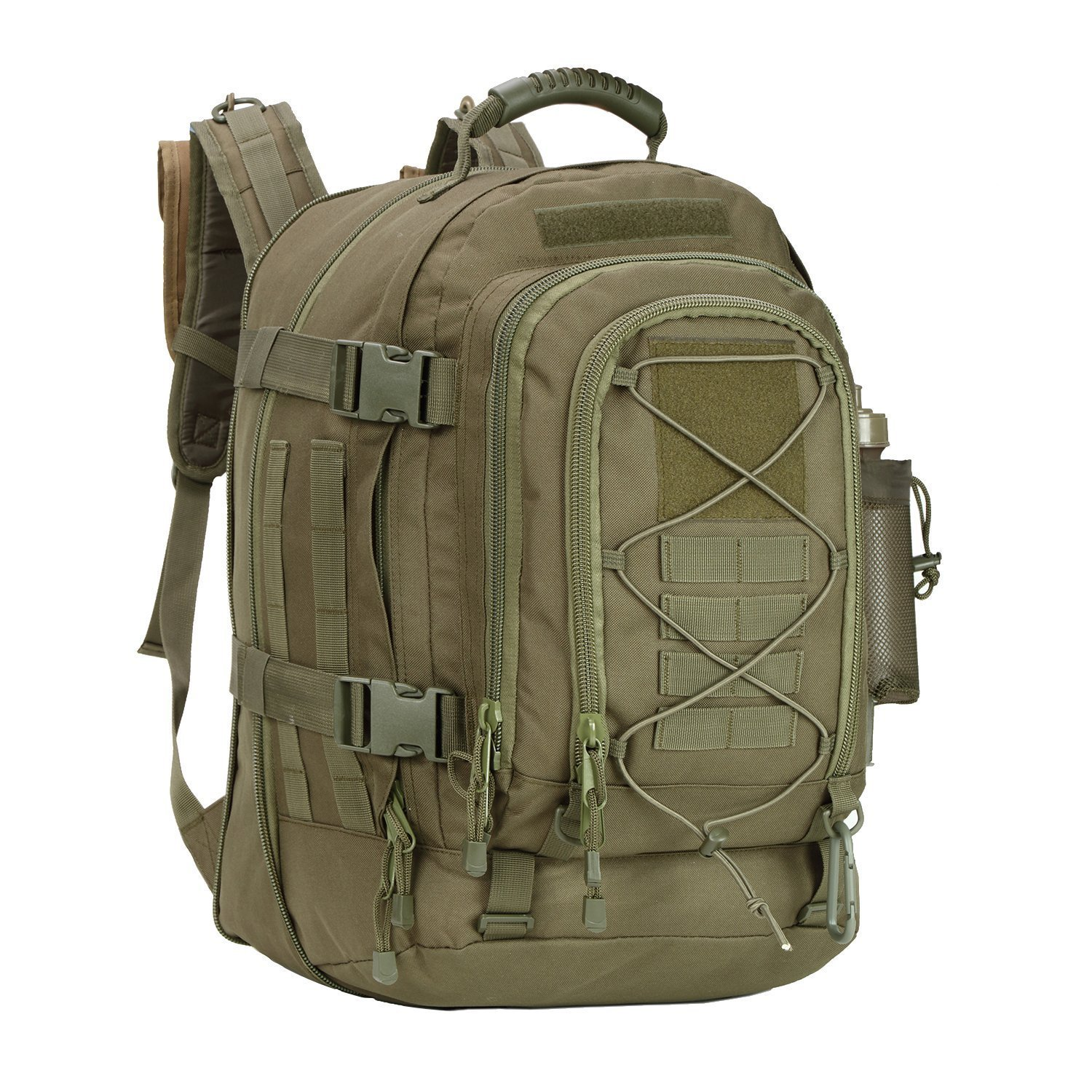 green-military-hiking-backpack
