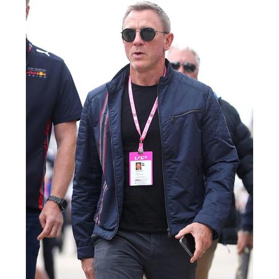 007 James Bond Blue Jacket