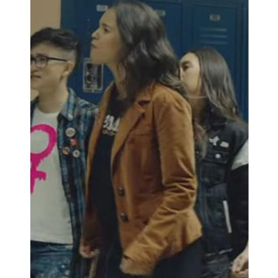 13 Reasons Why Alisha Boe Brown Jacket