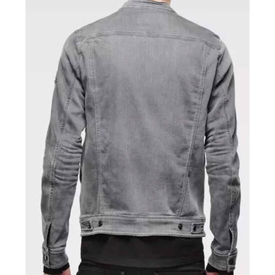 Christian Navarro 13 Reasons Why Grey Jacket