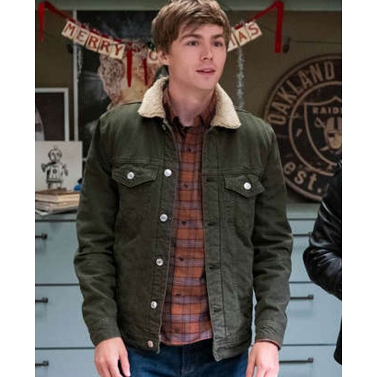13 Reasons Why S04 Miles Heizer Jacket