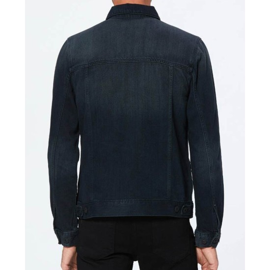 13 Reasons Why S04 Dylan Minnette Denim Jacket
