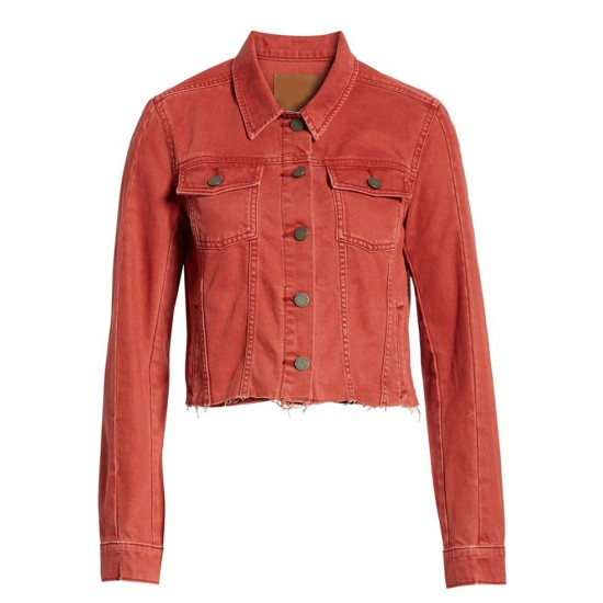 13 Reasons Why S04 Grace Saif Denim Pink Jacket