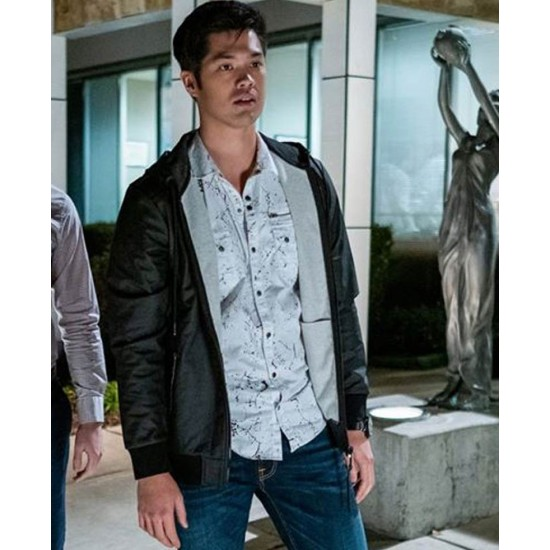 13 Reasons Why Ross Butler Black Hoodie