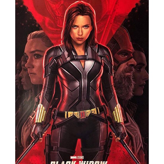 2020 Film Black Widow Leather Jacket