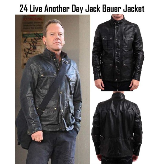 24 Live Another Day TV Series Jack Bauer Jacket