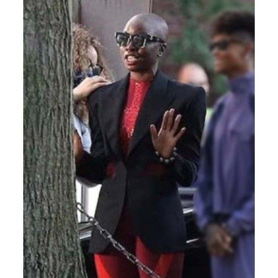 Black Panther: Wakanda Forever Okoye Cotton Blazer