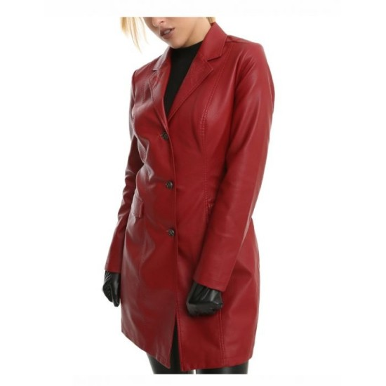 Buffy The Vampire Slayer Leather Trench Coat