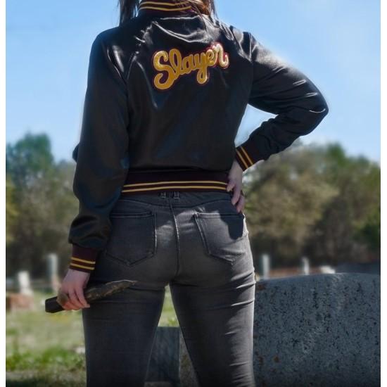 Buffy the Vampire Slayer Black Satin Jacket
