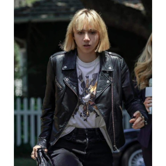 Clickbait 2021 Pia Brewer Leather Jacket