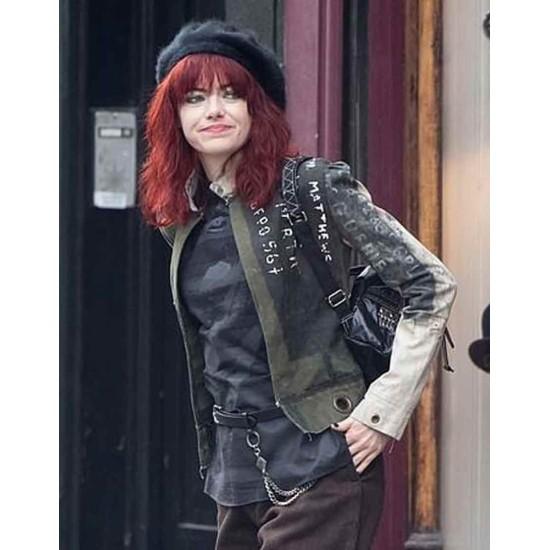Cruella 2021 Emma Stone Cotton Women Jacket
