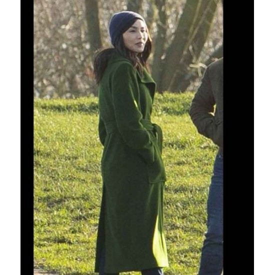 Eternals 2021 Gemma Chan Coat