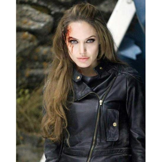 Eternals Thena Angelina Jolie Jacket