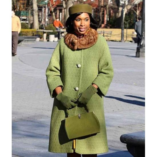 Jennifer Hudson Respect 2021 Green Coat
