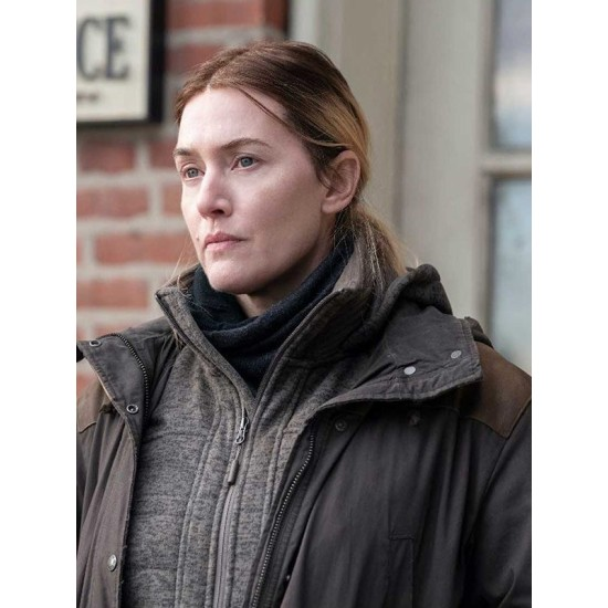 Mare of Easttown Kate Winslet Cotton Jacket