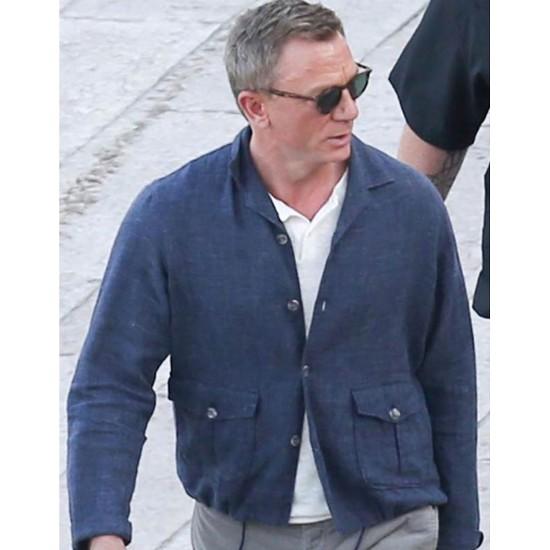 No Time To Die James Bond Denim Jacket