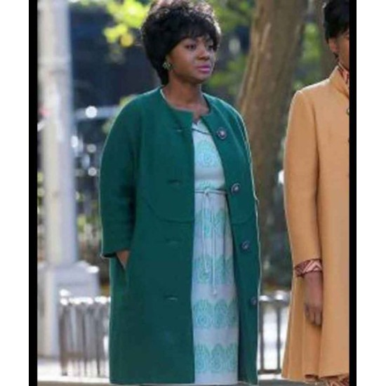 Respect 2021 Carolyn Franklin trench Coat