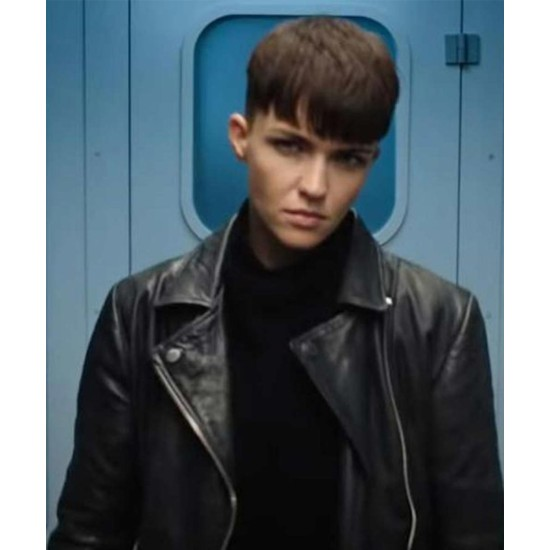 SAS: Red Notice Grace Lewis Leather Jacket