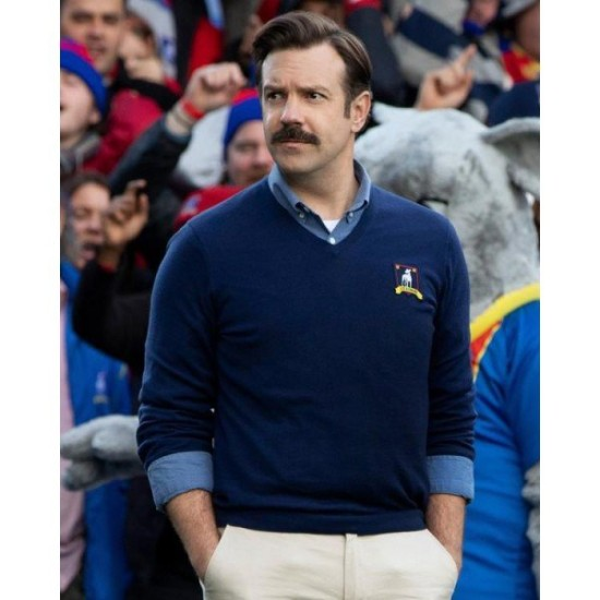 Ted Lasso Jason Sudeikis Sweater Jacket
