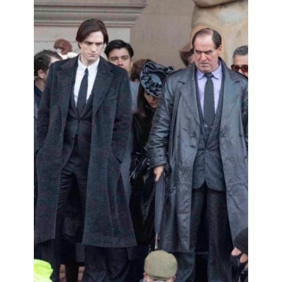 The Batman Bruce Wayne Trench Coat