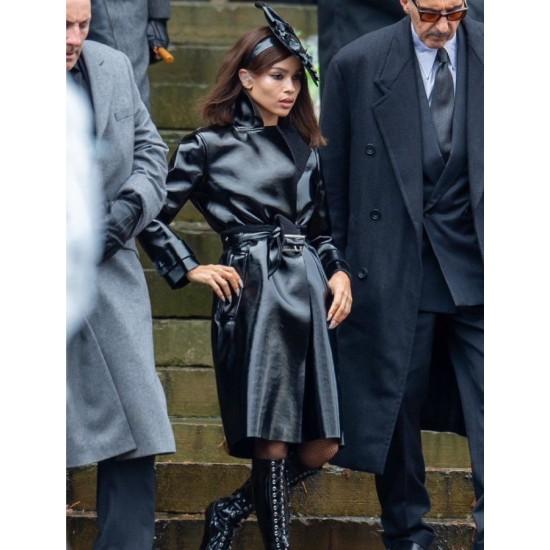 The Batman Zoë Kravitz Leather Coat