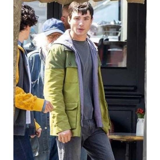 The Flash 2022 Barry Allen Green Cotton Jacket
