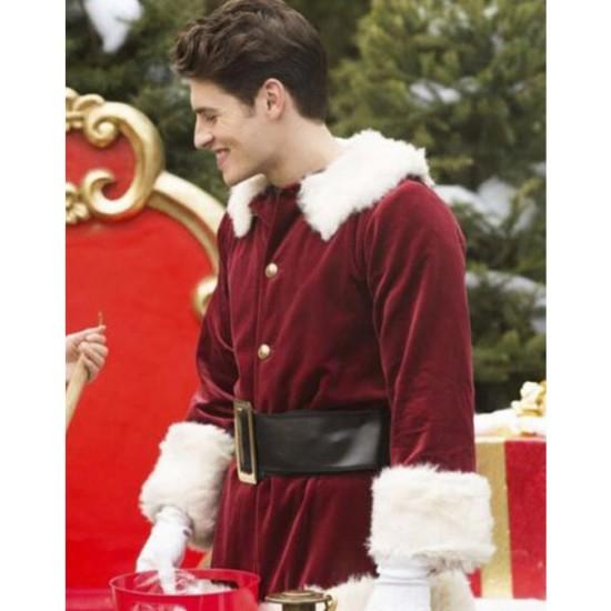 A Cinderella Story Christmas Wish Gregg Sulkin Red Coat