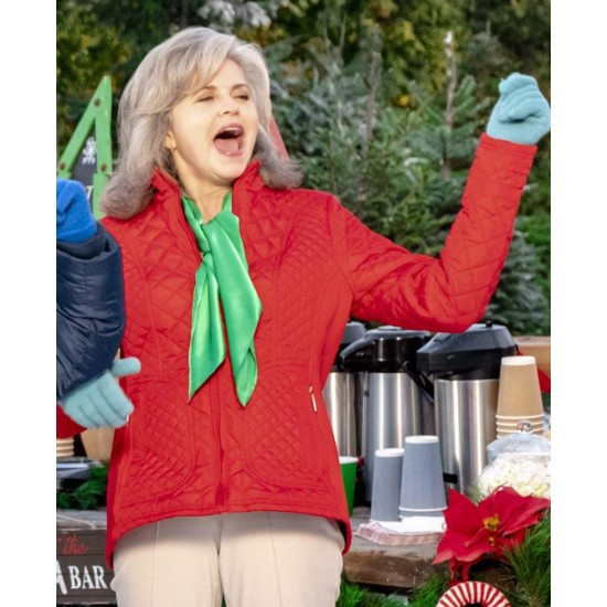 A Godwink Christmas Michele Scarabelli Red Jacket