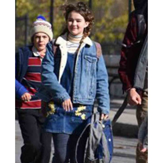 A Quiet Place Millicent Simmonds Shearling Jacket