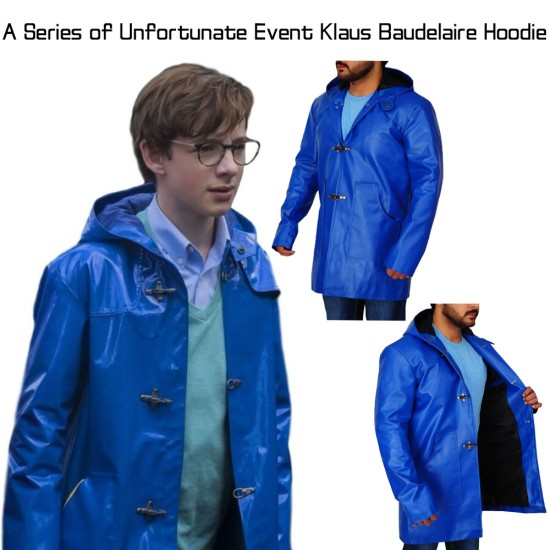 A Series of Unfortunate Events Klaus Baudelaire Hoodie