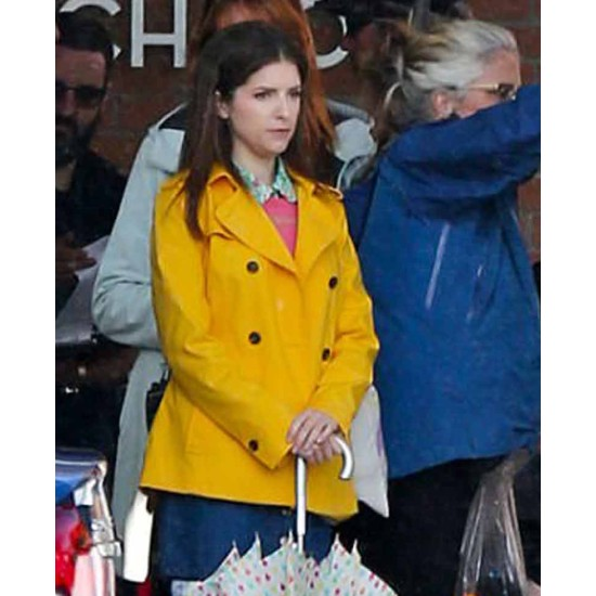 Anna Kendrick A Simple Favor Yellow Jacket
