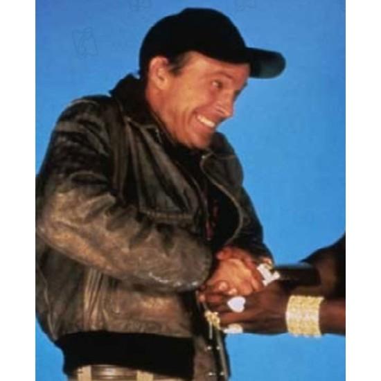 The A Team Da Nang 1970 Brown Leather Jacket