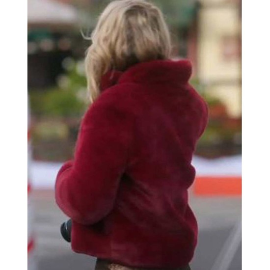 A Very Charming Christmas Town Natalie Hall Sherpa Jacket