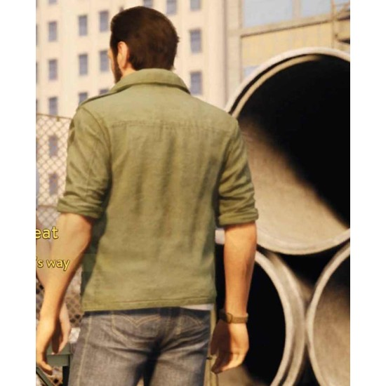A Way Out Leo Green Jacket