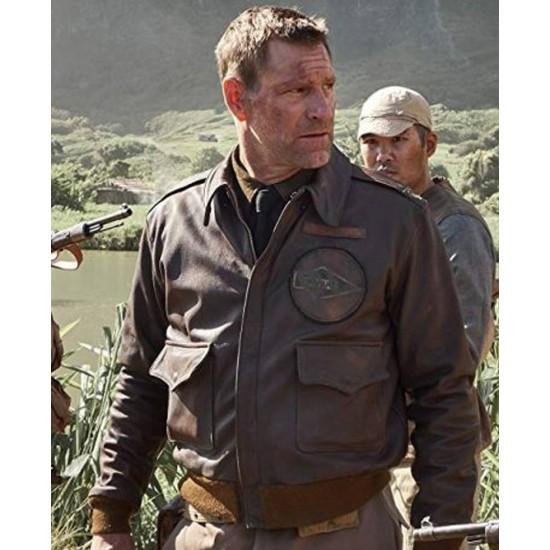 Lieutenant Colonel Jimmy Doolittle Midway A2 Bomber Leather Jacket