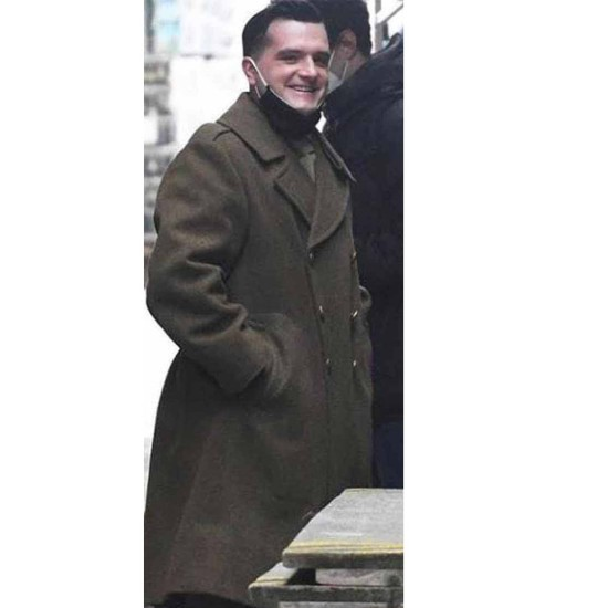 Across The River and Into the Trees Josh Hutcherson Double Breasted Coat