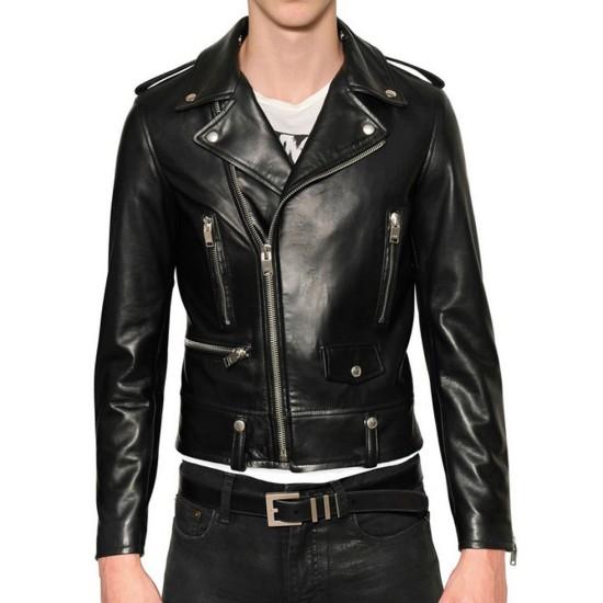 Adam Levine Motorcycle Leather Jacket