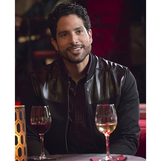 Empire Adam Rodriguez Black Jacket
