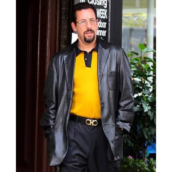 Adam Sandler Uncut Gems Leather Jacket